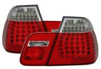 3er BMW E46 Limousine 98-01 LED Rückleuchten Rot KLAR LOOK  EAGLE EYES