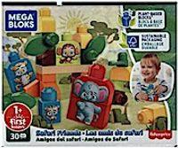 MEGA BLOKS Les Eco Amis Safari - GPT75 - Bausteine - 12 Monate und +