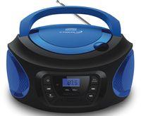 Cyberlux Tragbarer CD-Player Kinder Radio CD-Radio Stereoanlage Boombox Blau