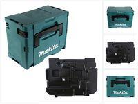 Makita MAKPAC 3 Werkzeugkoffer mit Einlage für BJV DJV 141 181 ( 821551-8 + 837789-5 )