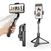 Selfie-Stick für Handys und Kameras, stabiles Stativ mit Bluetooth-Fernbedienung (schwarz)