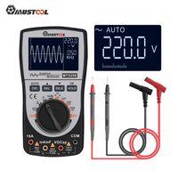 MT8206 Professionelle Handscopemeter Oszilloskop LED Multimeter Spannung / Strom / Widerstand Automatische Wellenform Erfassungstest Tools