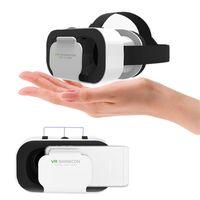 Tragbar Handy VR Brille Box Film 3D Brille Headset Helm VR Brille 3D World Virtual Reality  für iPhone Android Smartphone Brille