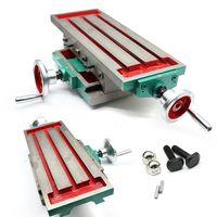 Fräsen Arbeitstisch Kreuztisch Frästisch Bohrständer Koordinatentisch Bohrtisch Bohrmaschine Ständer Multifunktion für Fräsmaschine Bohrer