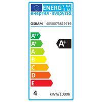 OSRAM LED BASE CLASSIC B 40 FS Kaltweiß Filament Klar E14 Kerze 3er Pack