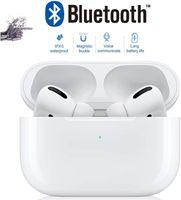 Drahtlose Bluetooth-Ohrhörer 5.0, Stereo-High-Fidelity-Kopfhörer, wasserdichte In-Ear-Sportkopfhörer, Popup-Fenster, CVC 8.0-Rauschunterdrückung, Unterstützung für die Namensänderung (für AirPods Pro iPhone / Android)