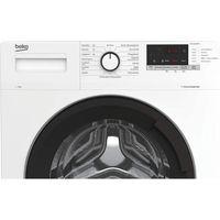 Beko WML71434NPS1 Stand-Waschmaschine-Frontlader weiß SteamCure-Dampffunktion
