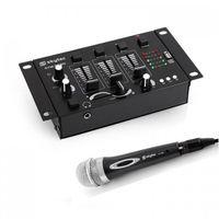Skytec Mini DJ Set 1 x 3/2-Kanal Mischpult 1 x Handmikrofon