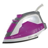 RUSSELL HOBBS Dampfbügeleisen Bügeleisen Rosa Light And Easy Pro 2600 W