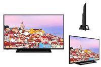 Toshiba UL3 Series, 165,1 cm (65 Zoll), 3840 x 2160 Pixel, LED, Smart-TV, WLAN, Schwarz