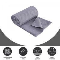Yoga Handtücher in verschiedenen Farben Farbe - Grau