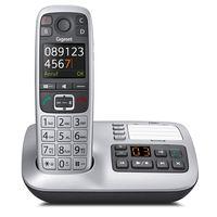 Gigaset E560A Telefon DECT-Telefon Schwarz, Silber Anrufer-Identifikation - Plug-Type C (EU)