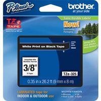 Etikettenband Brother TZE325 - 9,53 mm - Schwarz - 1 Each