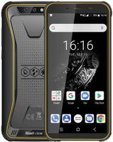 Blackview BV5500 Plus Outdoor Smartphone ohne Vertrag, Android 10,0 5,5 Zoll Display 3GB RAM+32GB Speicher, 4400mAh Akku, IP68 Wasserdicht, NFC, Face ID, 4G Dual SIM Handy (Gelb)