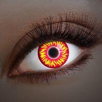 Kontaktlinse UV Fire in your Eyes