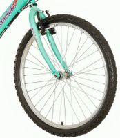breluxx/® 24 Zoll ALU Mountainbike Hardtail Alaska Sport D2 blau orange 21 Gang
