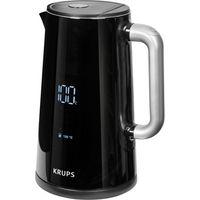 Krups BW 8018 Smartn Light Hochglanz-Schwarz, Wasserkocher, One-Touch-Bedienung