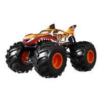 "Hot Wheels Monster Trucks 1:24 Die-Cast ""Tiger Shark"", Spielzeugauto"