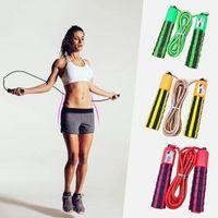 cofi1453® Springseil Seil Digital mit Sprungzähler Zähler Fitnessseil Gymnastikseil Schnur Nylon Crossfit Skipping in Rot