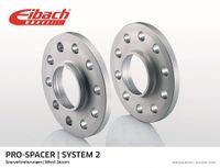EIBACH Spurverbreiterung für VW TOUAREG 7LA 7L6 7L7 für AUDI Q7 4L