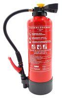 Aufladefeuerlöscher 6L ABF Schaum (Fettbrand) 34A 233B 40F, EN 3 inkl. Wandhalterung, Standfuß & Prüfnachweis (gültig 2 Jahre)