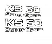 Aufkleber Satz ZÜNDAPP KS50 Super Sport 1979-1983 529-10-184