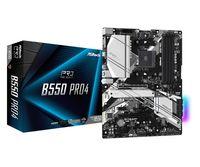 ASRock B550 Pro4 - AMD - Socket AM4 - AMD Ryzen 3 3rd Gen - 3rd Generation AMD Ryzen 5 - 3rd Generat
