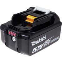 Akku für Werkzeug Makita Blockakku Typ BL1830 Original mit LED, 18V, Li-Ion