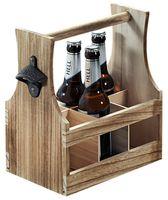 KESPER Flaschenträger, aus Paulowniaholz