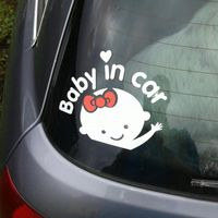 "Hot Baby an Bord ""Baby Auto"" Auto Aufkleber Auto wasserdichte Vinyl Aufkleber"