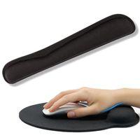Mauspad Silikon Gel Handauflage Mousepad PC Laptop Computer Maus Pad Unterlage Ergonomische Handgelenkauflage Set für Tastatur Maus