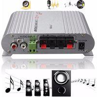 HiFi CD MP3 Radio Auto Home Audio Stereo Bass Lautsprecher Booster Verstärker