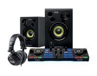 HERCULES DJ Starter Kit - Controller + Aktivlautsprecher + Kopfhörer