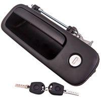 Heckklappe Griff Schloss + 2x Schlüssel für VW Golf 3 4 Polo Lupo Caddy Sharan