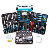 Bituxx Werkzeugtrolley, 1200 tlg, blau, MS-15421