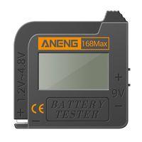 ANENG Batterietester 168MAX Digital Display Tester Batteriespannungspruefer Batteriekapazitaetstest-Tool Universalpruefgeraet zur ueberpruefung der AAA AA-Knopfbatterie