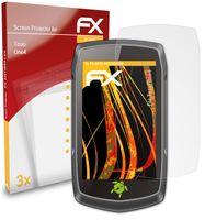 atFoliX FX-Antireflex 3x Schutzfolie kompatibel mit Teasi One4 Panzerfolie