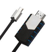 4K USB-C Type C zu auf HDMI HDTV Konverter Kabel Adapter für Android