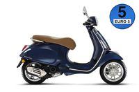 Vespa Primavera 50 Standard Modell 2021, Farben:Blau Energia 289/A