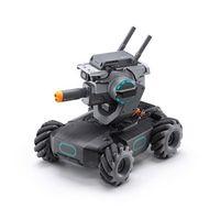 D-JI Intelligenter Lernroboter APP-Steuerungsroboter STEM Toy Robomaster S1 mit programmierbaren Modulen, Scratch- und Python-Codierung[Grau]