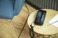 Profoon TX-115 - Kompaktes schnurgebundenes Telefon, anthrazit