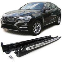 Alu Trittbretter Schweller OE Style mit ABE  für BMW X6 F16 ab 14
