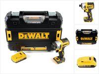 DeWalt DCF 887 NT Akku Schlagschrauber 18V 205Nm 1/4' Brushless + 1x Akku 2,0Ah + TSTAK - ohne Ladegerät