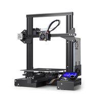 2020 New  Creality 3D Ender-3 3D Drucker Printer DIY Kit drucke + 5*0.4mm Düse 220 mmx 220 mmx 250mm