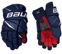 Bauer Vapor X2.9 Handschuh Senior, Größe:14 Zoll, Farbe:Navy