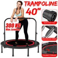 Fitness Trampolin Faltbar Indoor / Outdoor Minitrampolin Jumping Ø101cm 300kg