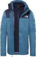 The North Face Evolve II Triclimate Jacke Herren mallard blue/urban navy Größe L