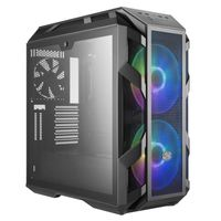 Cooler Master MasterCase H500M - Midi-Tower - PC - Glas - Netz - Stahl - Grau - ATX,EATX,Micro ATX,Mini-ATX - Gaming