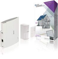 König Smart Home Security Starter-Set SAS-CLALARM05 WLAN RJ45 Schnittstelle Weiß
