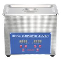 3L Ultraschallreinigungsgerät Ultraschallreiniger Ultraschallgerät Ultrasonic Cleaner + Korb